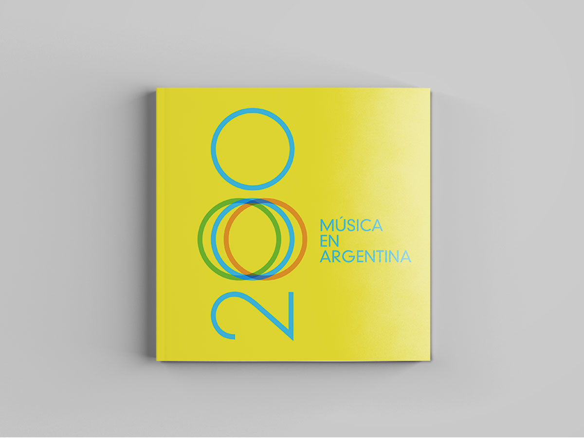 diseño editorial | 200 años de música en argentina